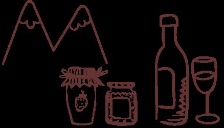Productos regionales de las sierras